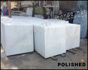 agaria white marble polished