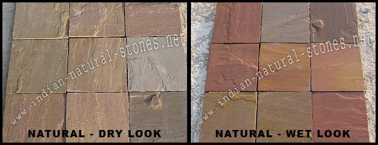 Autumn Brown Sandstone Paving Autumn Brown Sandstone