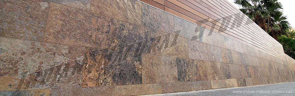 Flexible Stone Veneer : Slate veneer india natural from thin