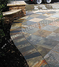 indian slate paving