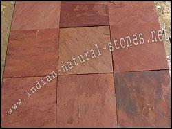 North India Terra Red Slate Stone