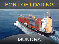 prort of loading in mundra