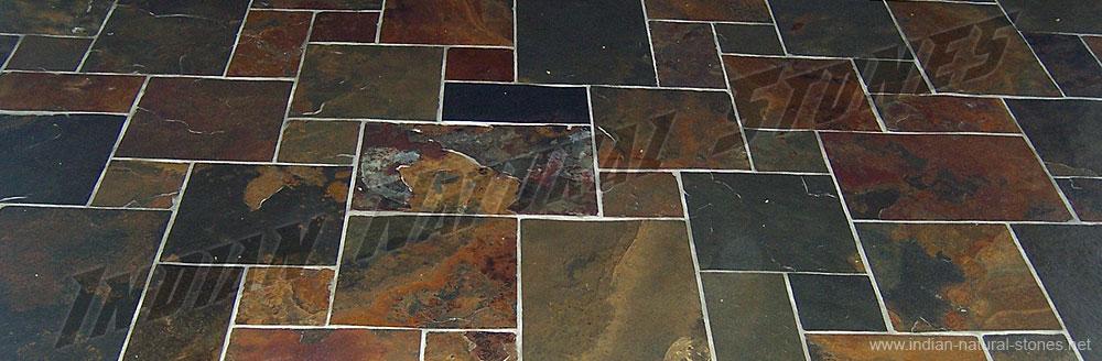 Versailles Pattern Tile Layout Sandstone Tiles Natural