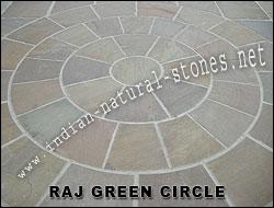 York Stone Circle Paving India